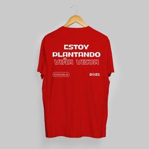 """Camiseta """"Estoy plantando viña vieja"""", Innoble 2021"""