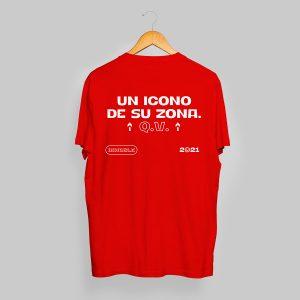 """Camiseta """"Un icono en su zona"""", Innobñle 2021"""